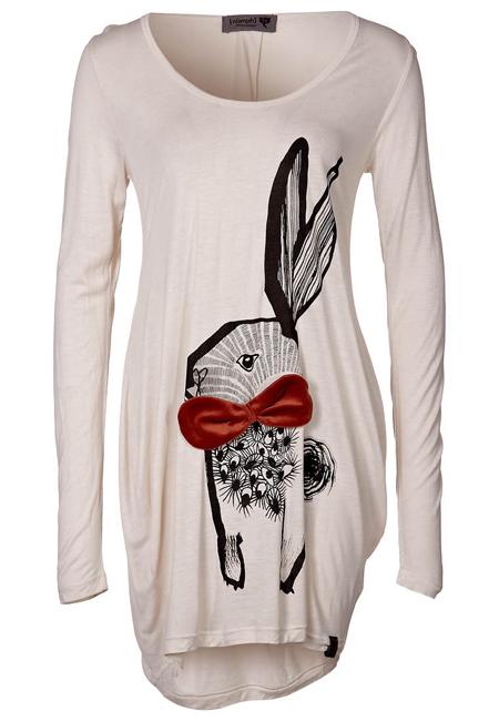 Nümph Shirt mit Hase
