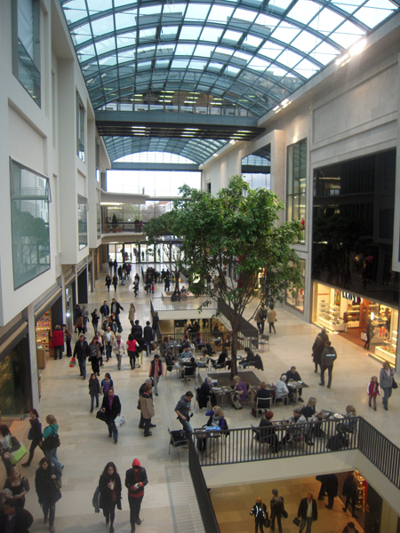 Shoppingcenter Boulevard Berlin in der Schlossstraße 4