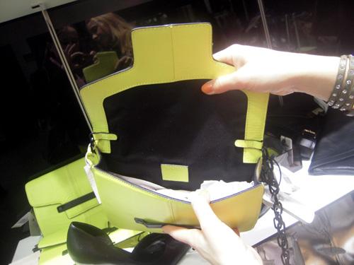 Werelse für MANGO Touch Tasche Neon