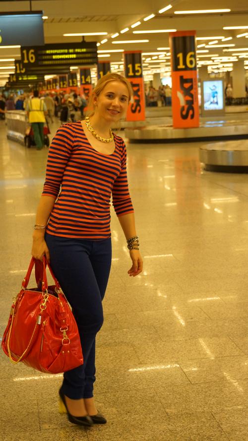 Am Flughafen von Mallorca