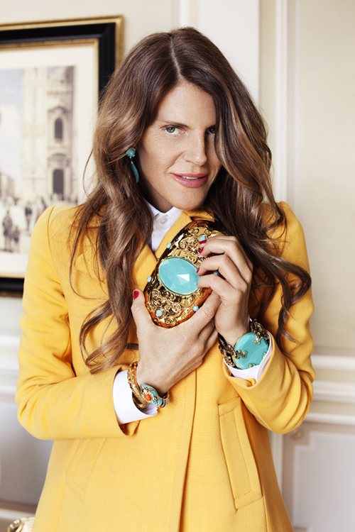 Anna Dello Russo designt Accessoires für H&M