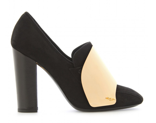 Cardinal Loaferpumps mit Metallic-Detail Yves Saint Laurent 2