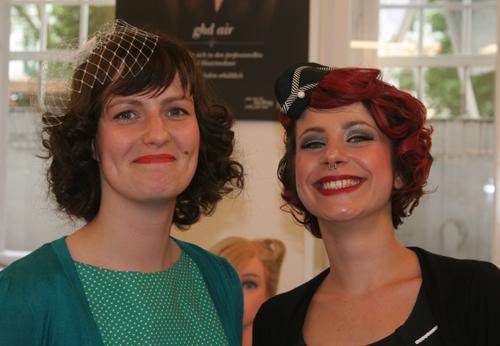Charleen von Chalotte Pulver und Laura von Hair Colada