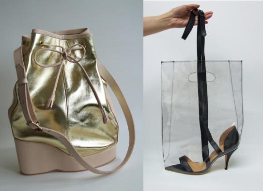 Die Schuh-Taschen von Azumi & David 1