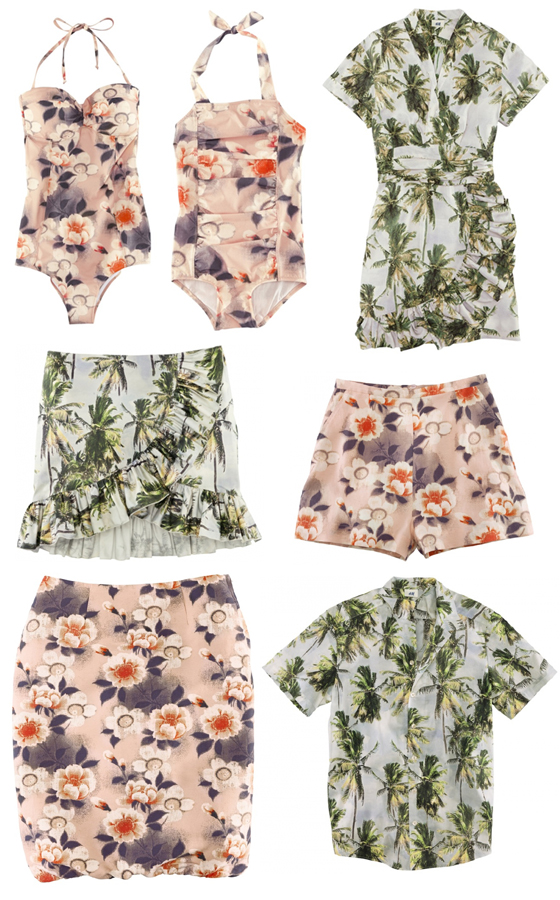 H&M for Water – Hawaii-Feeling mit Blumen und Palmen 1