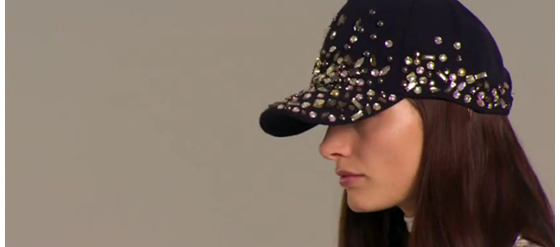 H&M Lookbook Damenkollektion Herbst 2012 Baseball Cap