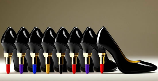 Lipstick-Heel von Alberto Guardini 1