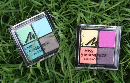 MANHATTAN Limited Edition Miss Miami Nice Quattro Eyeshadow
