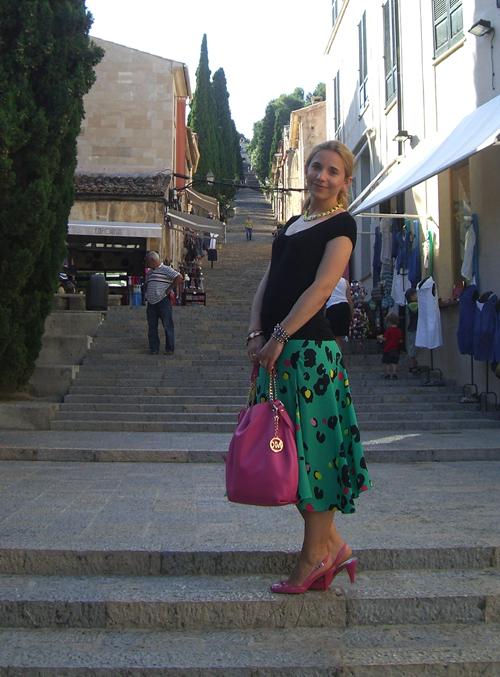 New In: Michael Kors Shopping Bag Jet Set Zinnia 2
