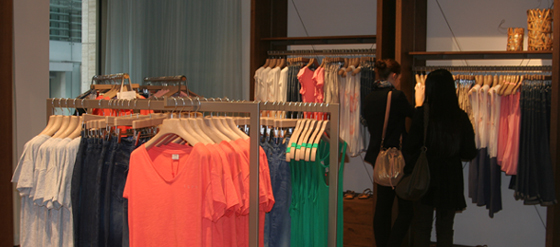 Esprit Store Opening-Event auf der Friedrichstraße-Berlin