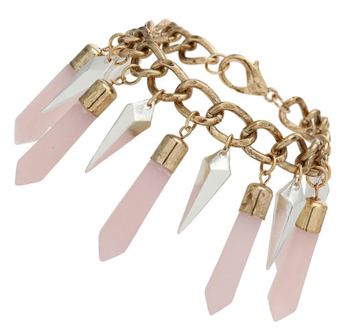 Armband mit spitzen Steinen von Miss Selfridge