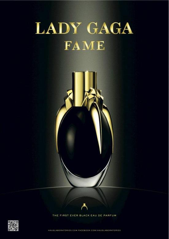 Black Eau De Parfum Fame Lady Gaga 1