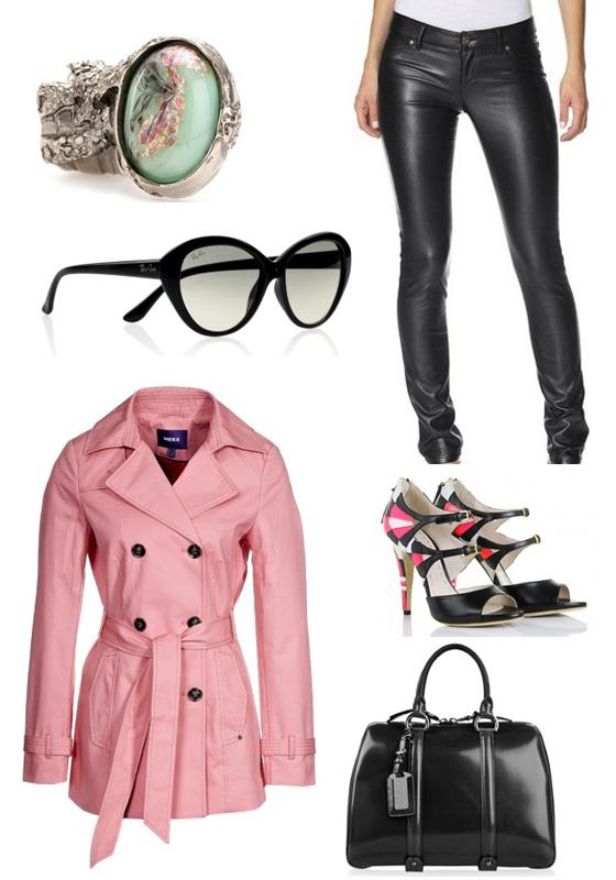 Outfit zur Barbara Bui Dude Bag