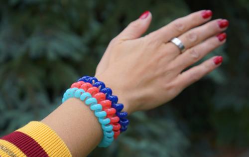 Papanga - Stylisches Haargummi und trendiges Armband 4