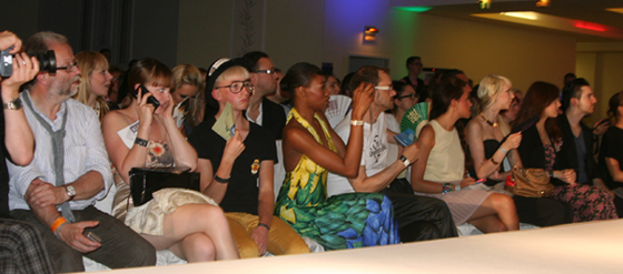 Die Front Row der 6. Berlin´s Night of Fashion