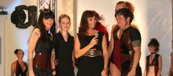 Designerin Cathleen Reinheckel und Moderatorin Jean Bork