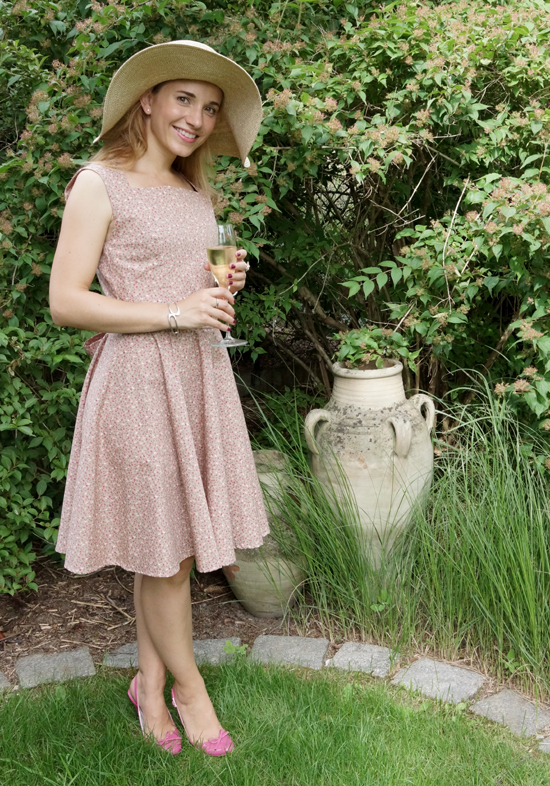 Chalotte Pulver Sommerkleid 1