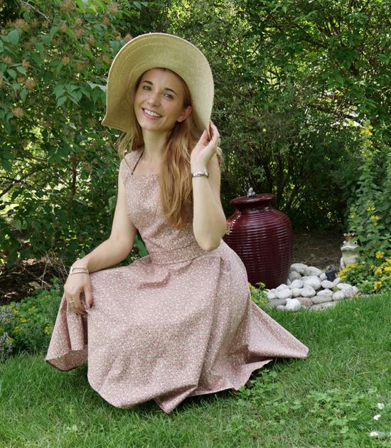 Chalotte Pulver Sommerkleid 3