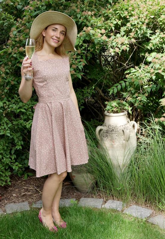 Chalotte Pulver Sommerkleid 6