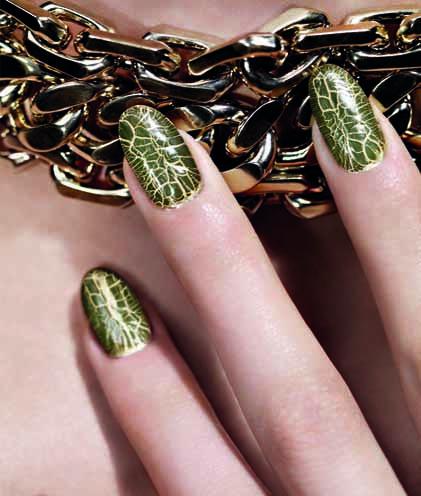 Der neue Herbstlook von Dior 2012 Nagellack 1