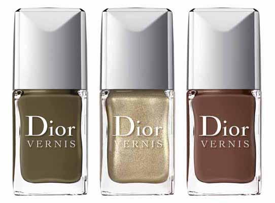 Der neue Herbstlook von Dior 2012 Nagellack