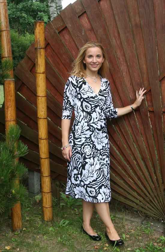 Dress Black & White 1