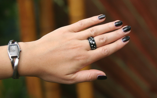 Dress Black & White 5