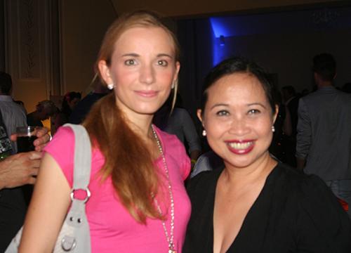 mit der Designerin Lina Berlina