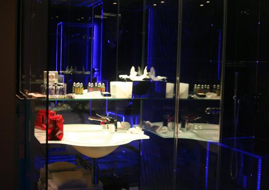 Mein Badezimmer im Hotel Seven in Paris