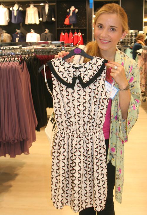 PRIMARK Kleid mit Dackel-Print