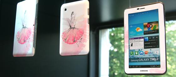 Samsung GALAXY Tab 2 designed by Guido Maria Kretschmer Party