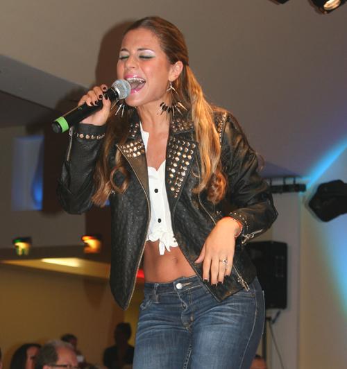 Silvia Amaru bei der 6. BNOF