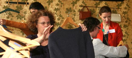 Common Vintage Kleidertauschparty in der Tussy Lounge