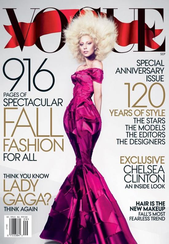 Das September Vogue Cover 2012 mit Lady Gaga 1