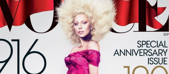 Das September Vogue Cover 2012 Lady Gaga