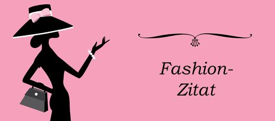 Fashion Zitat Mode Hans Joachim Friedrichs