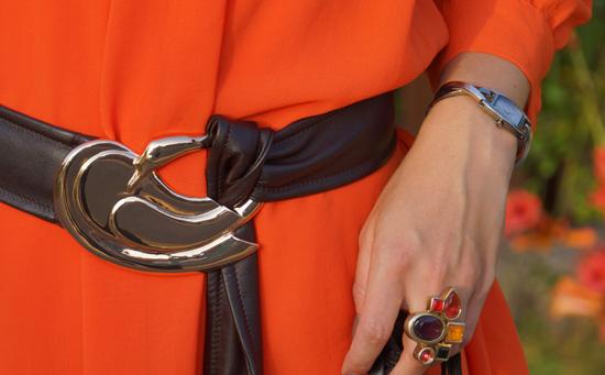 Meine orangefarbenen Schuhe von schuhtempel24.de 4