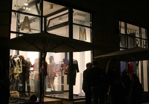 AMORPH Black Store Opening Berlin 3