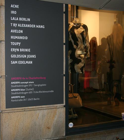 AMORPH Black Store Opening Berlin 5
