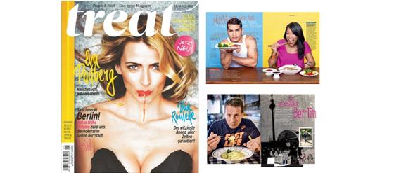 Das neue Magazin Treat