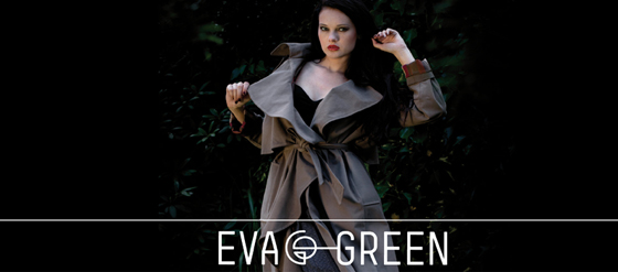 EVA GREEN Trenchcoat