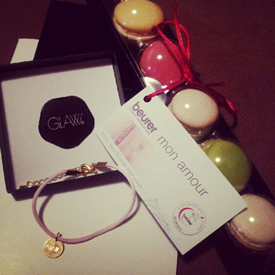 Give aways von GLAW & beurer