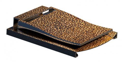 Ladymoneyclip Leopard SKIN