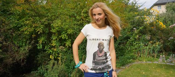 Mein Albert-Watson-T-Shirt
