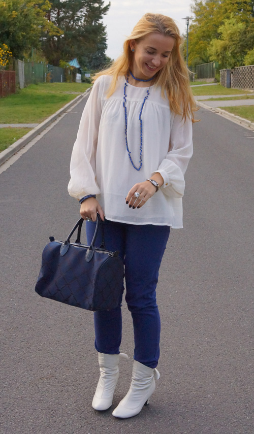 Outfit Blue and White 2