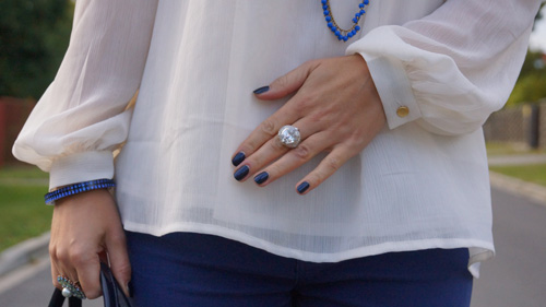 Outfit Blue and White 4