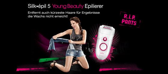 Silk-épil 5 Epilierer Braun Werbevideo