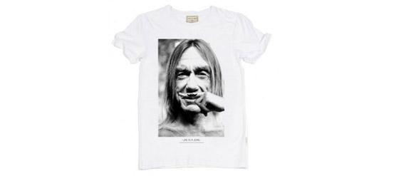 T-Shirt von ELEVEN PARISmit Iggy Pop