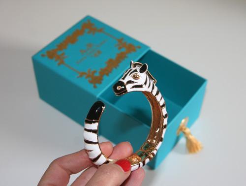 Anna Dello Russo Zebra Armspange 1