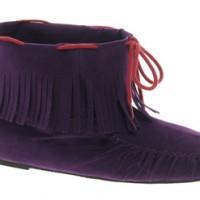 ASOS AMELIA Ankle Boots mit Fransen